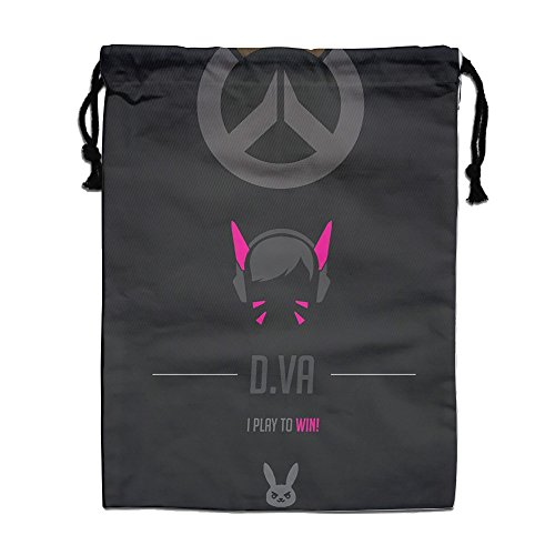 Bieshabi Overwatch Dva Drawstring Backpacks Sack Bagbags 0