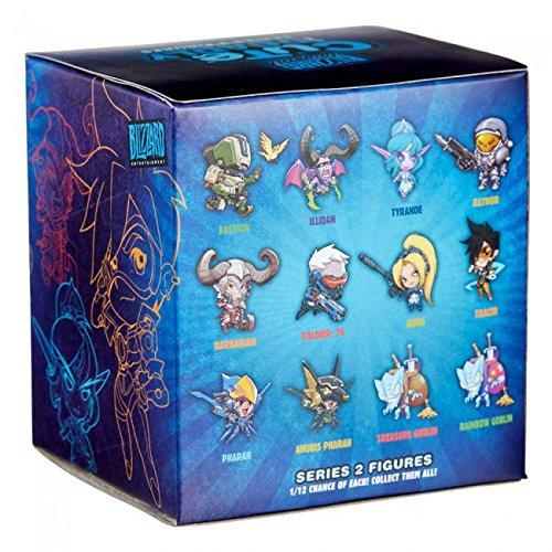 100% jakości nowy autentyczny profesjonalna sprzedaż Cute But Deadly Series 2 Vinyl Figure Blind Box Contains: 1 Random figure  from Overwatch, Diablo, World Of Warcraft or Starcraft