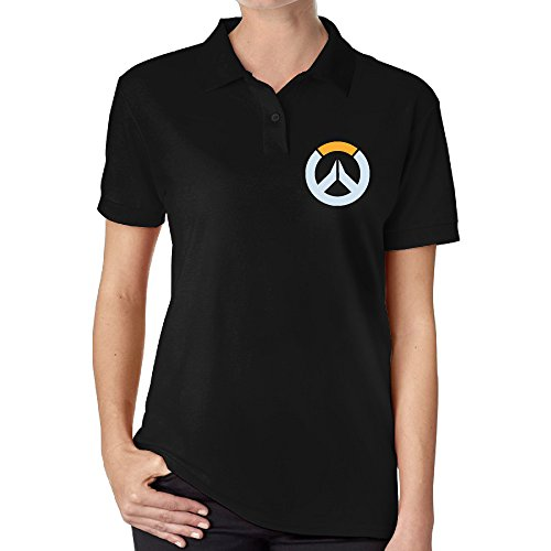 Women 39 s overwatch logo golf polo shirt overwatch merchant for Amazon logo polo shirts