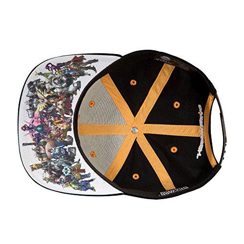 2b0b06e81 JINX Overwatch Heroes Snapback Baseball Hat | Overwatch Merchant
