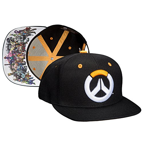 df422eddb765 JINX-Overwatch-Heroes-Snapback-Baseball-Hat-Multi-Colored-