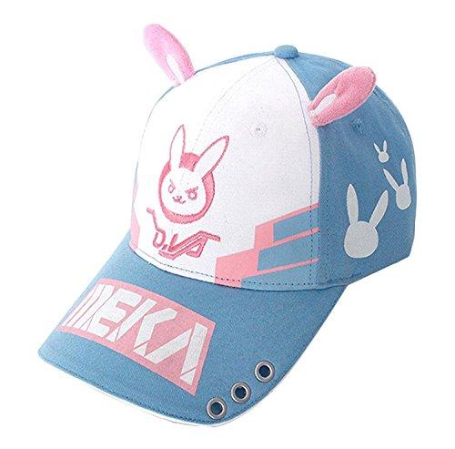 Overwatch-Cap-Diva-Bunny-Cosplay-Hat-Headwear-0- 9262f2ace8b