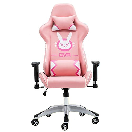 Overwatch D Va Bunny Gaming Chair Pink Overwatch Merchant
